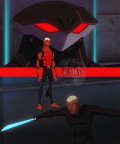 Young Justice 1x08 Downtime