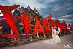 The Neon Museum Elopement Wedding (Amy & Adam) - Las Vegas Event and Wedding Photographer, Neon Museum Wedding Photos, Vegas wedding, Las Vegas Wedding Photographer Las Vegas Wedding Photographers, Las Vegas Weddings, Paris Las Vegas, Neon Museum, Elope Wedding, Elopement Wedding, Museum Wedding, Las Vegas Strip, Family History