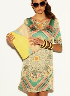 Paula Folch for Blanco Summer 2012 Campaign