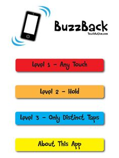 BuzzBack Cause & Effect With Vibrations & Sound ($0.00) cause and effect app created for a teacher of a student with auditory and visual impairments. Built to be run on iPhones as it uses vibration as the primary reinforcer.