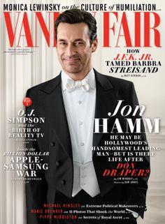 Jon Hamm on the cover of June 2014 Vanity Fair #DonDraper #MadMen