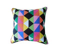 Geometric Pillow cover, Decorative pillow cover, 18x18, Decorative Cushion Covers, Home & Living, Home Décor, Room Décor, Modern  pillow