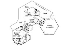 Contemporary House Plans - Ravendale 10-523 - Associated Designs