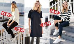Lidl launches 'maritime chic' clothes collection and nothing is more than £6.99 | Daily Mail Online