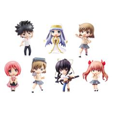 Toys Works Collection to Aru Majutsu No Index PVC Figures (display of for sale online A Certain Scientific Railgun, A Certain Magical Index, Anime Figurines, Everything Is Awesome, I Love Anime, Homestuck, Action Figures, Fangirl, It Works
