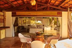 Here you can get a good impression of our new holiday home, Chalet la Garagem.