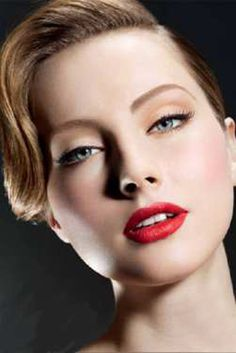 beauty forties make up Copy 6 Colorful Makeup Trends For Spring 2012