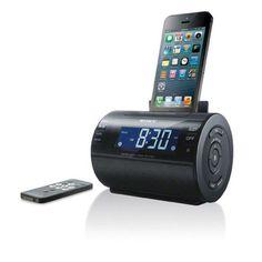 Sony Lightning iPhone/iPod Clock Radio Speaker Dock (Black) (Discontinued by Manufacturer) : Radio Alarm Clocks : Players & Accessories Radios, Great Speakers, Wireless Speakers, Iphone Speakers, Portable Speakers, Ipod, Radio Alarm Clock, Digital Alarm Clock, Sony