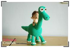 Spot - Good Dinosaur - Free Crochet Pattern - Amigurumi