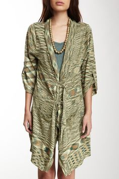 Stacia Feather-Weight Tab Cardigan in tumbleweed