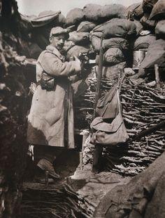 WW1, trench