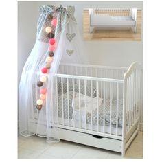 Białe łóżeczko dla dziecka + tapczanik ALEK - 359 zł w sklepie mamaania.com.pl