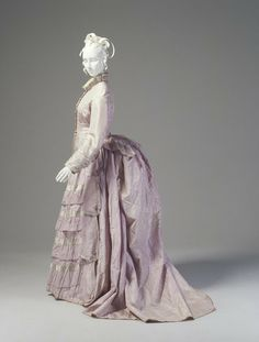 Afternoon dress ca. 1876