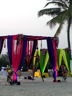 Indian Wedding Decor  http://www.blisshoneymoons.com/category/destination-weddings/   #blisshoneymoons #destinationwedding #allinclusiveweddingpackages