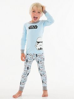 Kids Disney Star Wars T Shirt Pyjamas Top Or All In One Licensed Childs Clothing