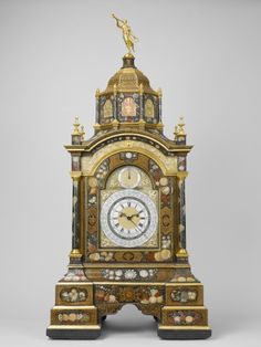 *Mid-18th century British Table clock in the Royal Collection, UK