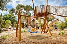 The exciting new Playground at Adelaide Zoo was completed and opened for the public to enjoy late 2015. This new playspace was designed and created to blend in with its exotic surroundings, facilitate for all ages and incorporate disabled access; allowing it to be enjoyed by everyone. This new...