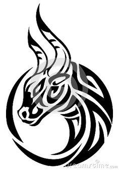 Tatouage De Taureau Et Symbolique Du Signe Astrologique Du Taureau