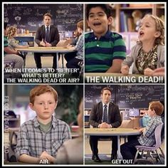 TWD- We need air to watch TWD.