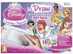 From 21.70 Udraw Tablet Including Disney Princess And Udraw Studio (wii)