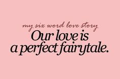 It is <3 he says I'm his princess and he is my prince