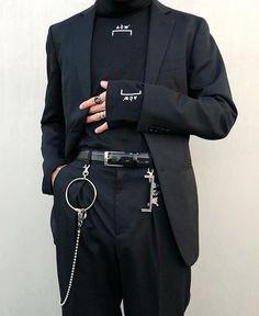 Style black grunge fashion Ideas for 2019 Edgy Outfits, Mode Outfits, Grunge Outfits, Fashion Outfits, Fashion Ideas, Cochella Outfits, Fashion Shorts, School Outfits, Dark Fashion