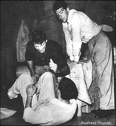 Jerry,Burt Lancaster and Dean on the set of The Colgate Comedy Hour Music Theater, Theatre, Swing Era, Comedy Duos, Dust Bowl, Wind Of Change, Hope For The Future, Jerry Lewis, Mr Wonderful