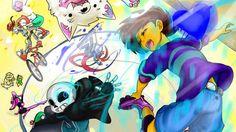 Perfs banner! Perf is the creator of Quantumtale! Art by: perfectshadow06.deviantart.com