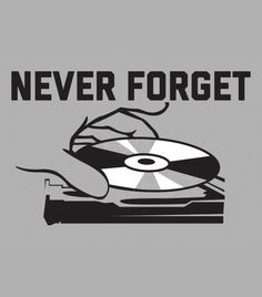 """""""Never Forget"""" grey t-shirt.  Funny tech shirts"""