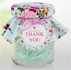 300pcs/lot  Transparent Glass Wedding Candy Favor Box Bottle with Vintage Floral Pattern Decoration