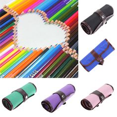 36 Colors Non-toxic Drawing Pencil Set Colored Art Painting Pencils Pen Case Gifts for Student Painting School Stationery