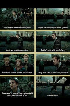 Neville Longbottom, the chosen one to lead the people. Harry Potter, the chosen one to fight Voldemort. Harry Potter World, Harry Potter Quotes, Harry Potter Love, Harry Potter Universal, Harry Potter Fandom, No Muggles, Neville Longbottom, Yer A Wizard Harry, Mischief Managed