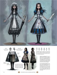 Concept Art and Illustration from The Art of Alice: Madness Returns