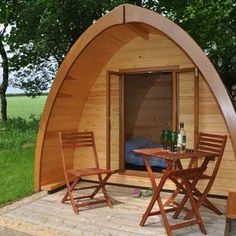 camping pod.. how cool!