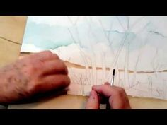 Watercolor Painting Foreground Lesson 3