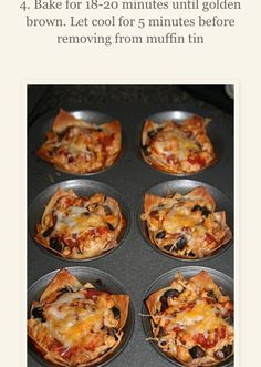 Taco Muffins- Quick, Fun And Yummy!So delicious!