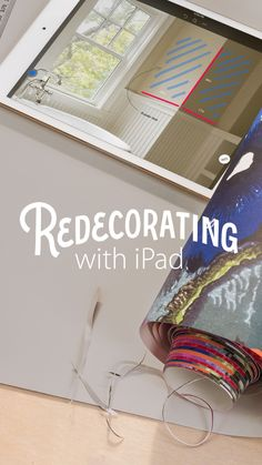Redecorate with apps like Skitch from Evernote that let you annotate and draw on your photos. Plan where you'll put paint or wallpaper, or sketch where shelves will go, so you can see how much space it will take.