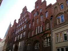 Lübeck - Stufengiebelhäuser