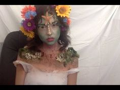 (4) Mother Nature Makeup Tutorial 2015 NYX Face Awards Entry - YouTube