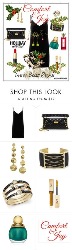 """#PolyPresents: Wish List"" by shamrockclover ❤ liked on Polyvore featuring rag & bone/JEAN, Boutique Moschino, Marco Bicego, Laundry by Shelli Segal, Bloomingdale's, Yves Saint Laurent, Christian Dior, Bulgari, contestentry and polyPresents"