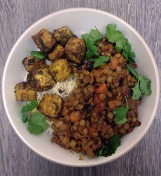BBQ lentils