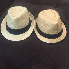 Women's fedora hats Two for one! Women's fedora hats. Great condition worn once! Cotton On Accessories Hats