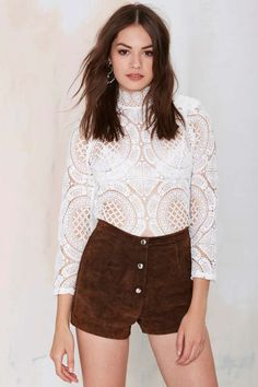 Vintage Foxy Lady Suede Shorts | Shop Vintage at Nasty Gal!