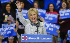 (From AFP) Hillary Clinton defeated Bernie Sanders in a landslide in the Democratic primary in South Carolina, projections showed, seizing momentum ahead Democratic Primary, Democratic Party, Ted, Chuck Todd, Super Tuesday, Thing 1, Democratic Presidential Candidates, Political News, Liberal Politics