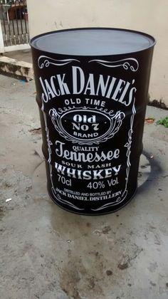 Mesa decorativa Jack Daniels