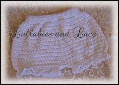 baby bottom bloomers free crochet pattern