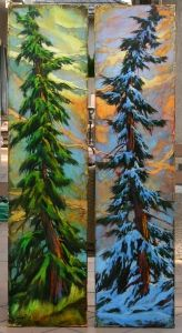Hands On - David Langevin Artworks Inc. Canadian Artists, Art Store, Tree Art, Awesome Art, Acrylics, Birch, Nature, Action, Fruit