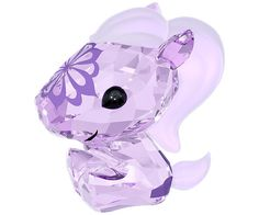 Uma the Horse is loved for her cheerful, warm, and talkative personality. This little Zodiac in Violet crystal is decorated with a playful floral... Shop now