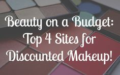 1.All Cosmetics Wholesale  This website is definitely the best when it comes to finding discounted makeup! They feature awesome high end brands including MAC, NARS, Dior, Too Faced, and YSL as well as drugstore brands we Perfume Diesel, Makeup Tips, Beauty Makeup, Hair Beauty, Skin Makeup, Makeup Deals, Aloe Vera Creme, Anti Aging, Beauty Tutorials