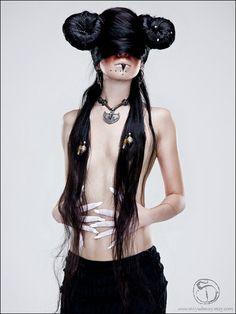 black magic - dark tribal haute macabre miyu decay
